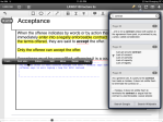 6. PDF Expert - Search is similar to iAnnotate but is a popup menu, & annotated terms are also searched. The whole text edit option here is simple and neat.