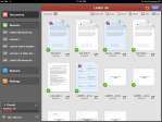 3. PDF Expert - Syncing (bottom left) & organising files in concert is possible. Its clean look with options to move/email/zip files are a lot easier on the eyes.