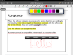 12. PDF Expert - Preset pens at the top very practical. You can also change & save the colour, brush size and opacity. Clean and simple.