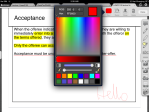 13. iAnnotate - Handwriting Tool - can choose from a spectrum of colours, adjust opacity & brush sizes. Takes up 1/3 of the screen... Also has custom stamp tool!